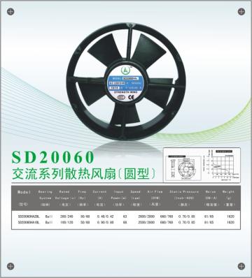 20060散热风扇(圆型)